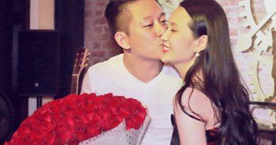 Ca sĩ Tuấn Hưng tặng vợ 99 đóa hồng