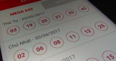 Kết quả kỳ quay 122 mở thưởng hôm 30/4/2017.