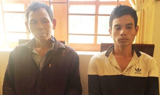 2 đối tượng bị bắt giữ tại cơ quan điều tra