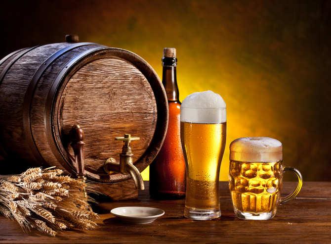 Bia được làm từ lúa mạch rất tốt cho việc làm đẹp