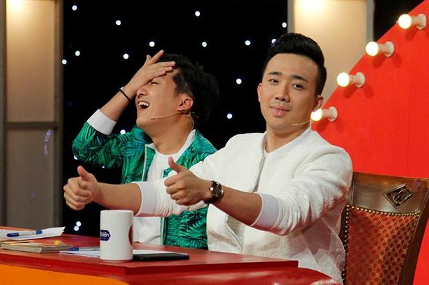 Trấn Thành và Trương Giang cũng là gương mặt khá hot trên màn ảnh