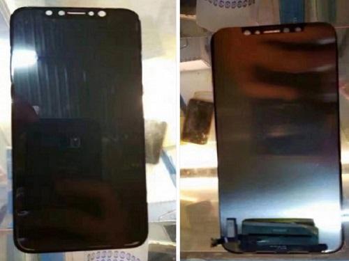 Màn hình hiển thị của iPhone 8 được lắp ráp hoàn thiện