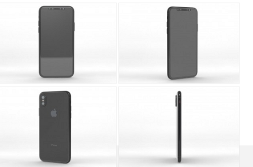 """Thiết kế tinh xảo của """"siêu phẩm"""" iphone 8"""