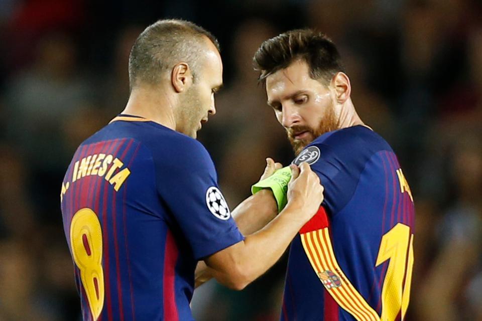 Messi sẽ đeo băng đội trưởng tại Barca