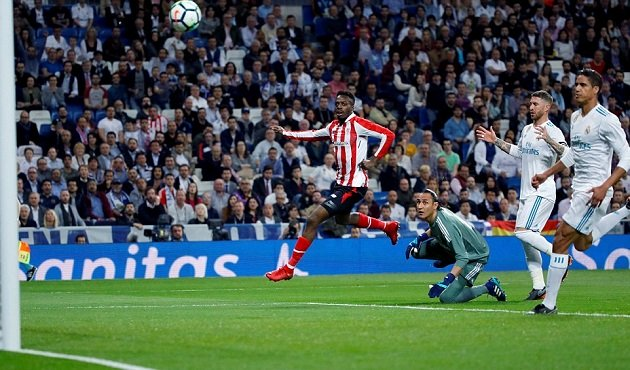 Bilbao gây ra khá nhiều ức chế cho Real trong đêm qua