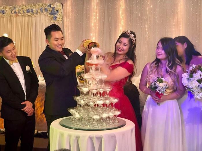 Nhiều sao việt đã có mặt tại Mỹ để dự lễ cưới