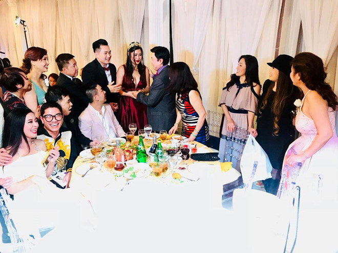 Lễ cưới con gái nghệ sỹ Hòng Vân được tổ chức tại Mỹ