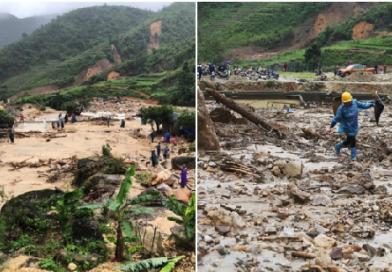 Nhiều bản làng bị chôn vùi sau trận lũ quét ở Lai Châu