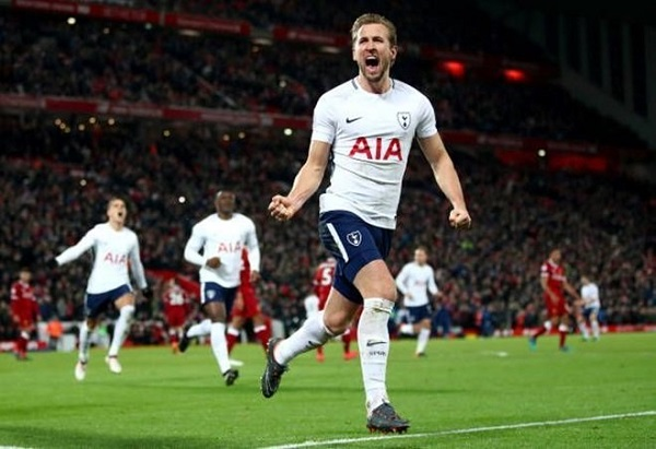 Harry Kane trong màu áo Tottenham