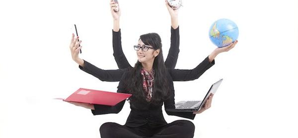 Liên tục giữa các nhiệm vụ, bận rộn khiến công việc không năng suất