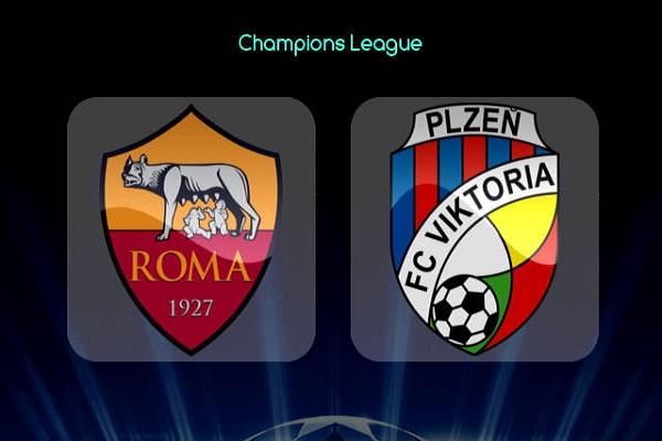 Nhận định Viktoria Plzen vs AS Roma