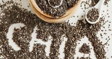 Công dụng của hạt chia trong thực đơn dinh dưỡng
