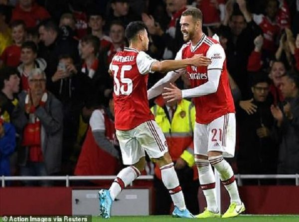Arsenal 5-0 Nottingham: Dàn pháo thủ thắng lợi hoàn toàn