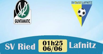 Nhận định SV Ried vs Lafnitz, 01h25 ngày 6/6
