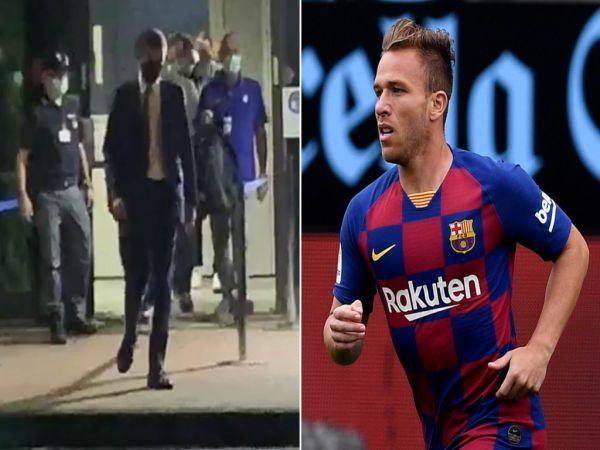 Arthur hoàn tất kiểm tra y tế ở Juventus