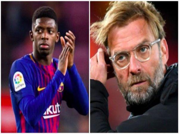 Liverpool không muốn mượn Dembele