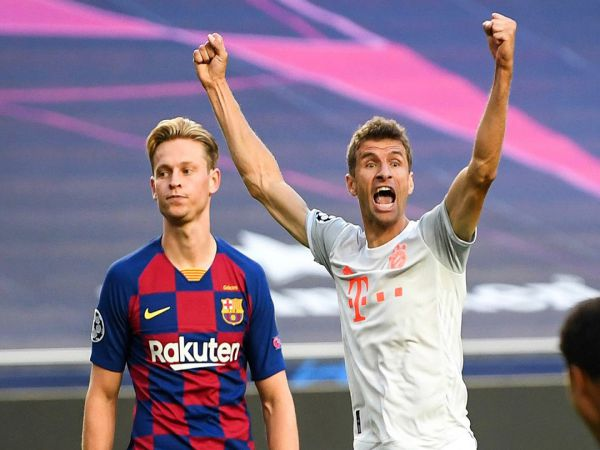 Tin bóng đá chiều 15/8: Bayern thắng Barca đẹp hơn Đức hạ Brazil 7-1