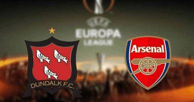 Soi kèo Dundalk vs Arsenal – 00h55 11/12, Europa League