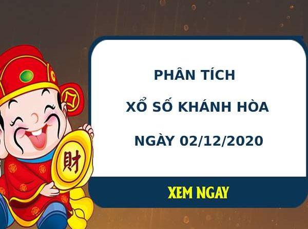 Phân tích kết quả XS Khánh Hòa ngày 02/12/2020
