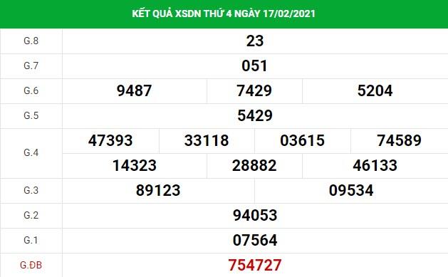 Soi cầu dự đoán XS Đồng Nai Vip ngày 24/02/2021