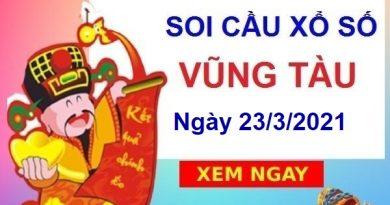 Soi cầu XSVT ngày 23/3/2021