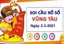 Soi cầu XSVT ngày 2/3/2021 chốt lô số đẹp xổ số Vũng Tàu
