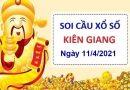 Soi cầu XSKG ngày 11/4/2021 – Soi cầu bạch thủ xổ số Kiên Giang chủ nhật