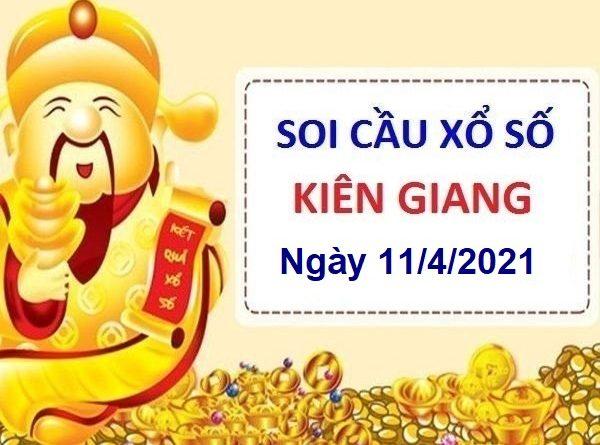 Soi cầu XSKG ngày 11/4/2021