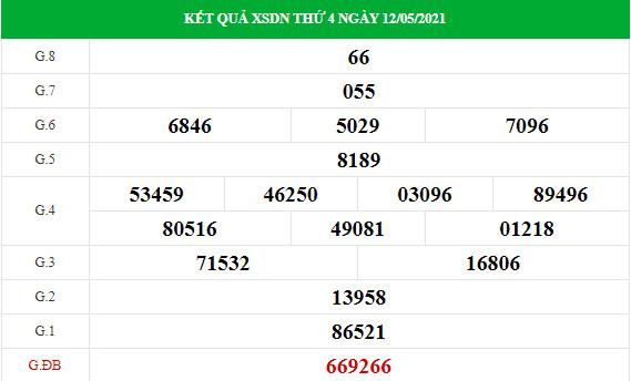 Soi cầu dự đoán XS Đồng Nai Vip ngày 19/05/2021