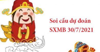 Soi cầu dự đoán SXMB 30/7/2021
