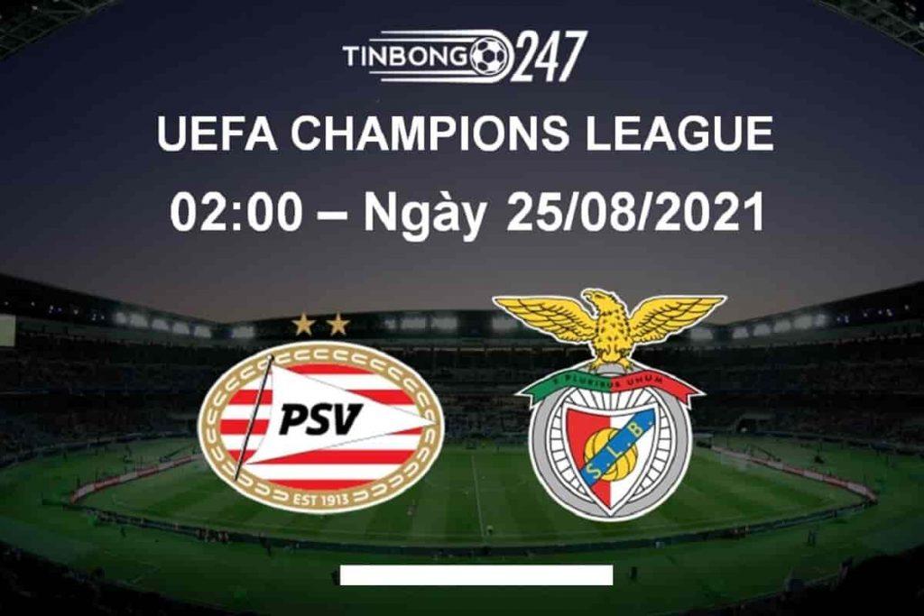 Dự đoán nhận định PSV vs Benfica 25/08, 2h ngày mai