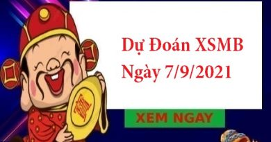 Dự Đoán XSMB 7/9/2021