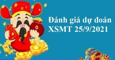 Đánh giá dự đoán KQXSMT 25/9/2021